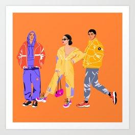 Fashionistas Art Print