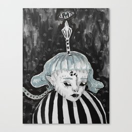Child demon Canvas Print