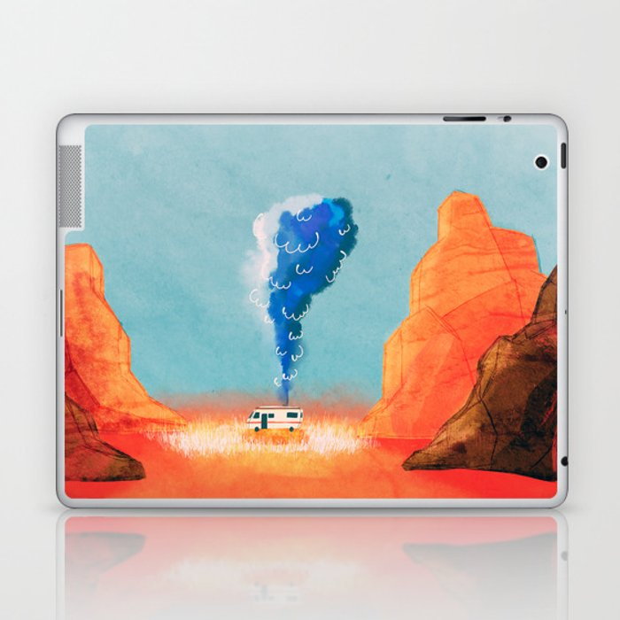 breaking bad laptop ipad skin by boylescaleb society6