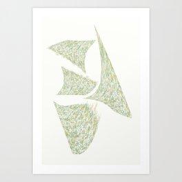 """"""" SPLATS - W """" Art Print"""