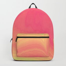 Abstract Tropical Pastel Rainbow Heart Pattern | Valentine's Day Backpack