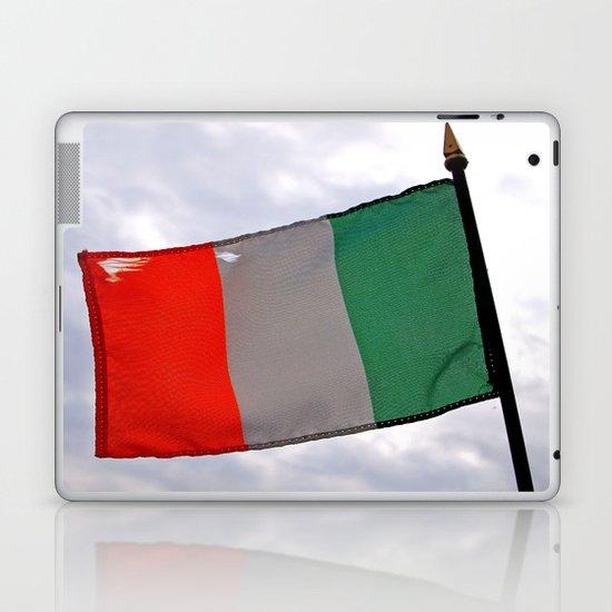 Irish tricolor Laptop & iPad Skin