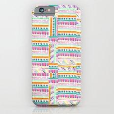 multicoloured AZTEC + Slim Case iPhone 6s