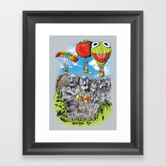 Epic Adventure Framed Art Print