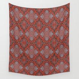 Sliced pomegranat Wall Tapestry