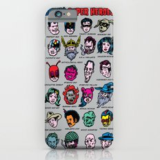 The Hall of Cliché Super Heroes Slim Case iPhone 6s