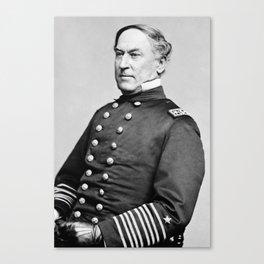Admiral David Farragut -- Civil War Canvas Print