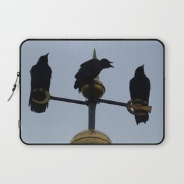 Scottish storm crows Laptop Sleeve
