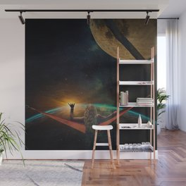 GOOD MORNING SPACE Wall Mural