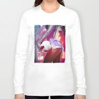 volleyball Long Sleeve T-shirts featuring Beach volleyball girl sexy by Swagnation Dopetribe