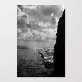 The greatest wave Canvas Print