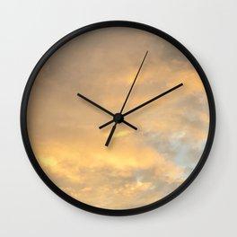 Gold Rush Wall Clock