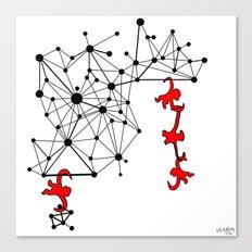 the Monkeys Canvas Print