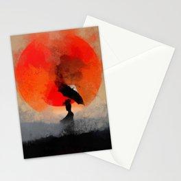 umbrellaliensunshine: atomicherry winter! Stationery Cards