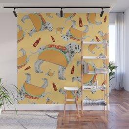 Taco Dog Wall Mural