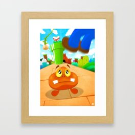 This is the end... Framed Art Print