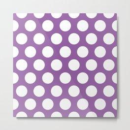 acai dots pattern Metal Print