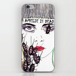Amelie is dead iPhone Skin