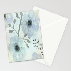 Anemone Blue Stationery Cards