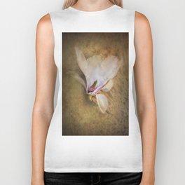 Beautiful Swan Song - Flower still life Biker Tank