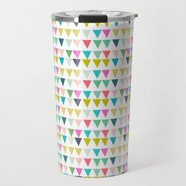 geometrics colors Travel Mug
