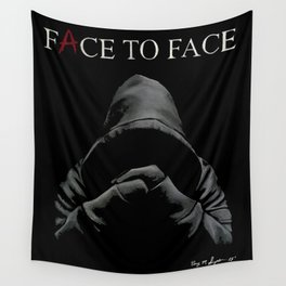 """""""A"""" - Pretty Little Liars   FACE TO FACE   Drawing Wall Tapestry"""