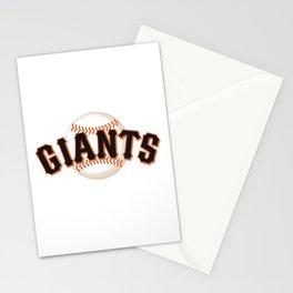 MLB Giants Stationery Cards