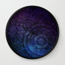Space mandala 9 Wall Clock