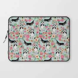 Husky dog breed must have gifts for dog person husky owner presents Laptop Sleeve