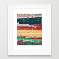 boats Framed Art Prints featuring Boats by stephmel