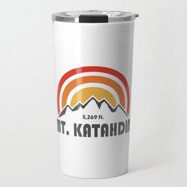 Mt. Katahdin Travel Mug