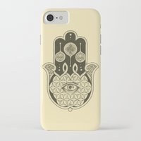 hamsa iPhone & iPod Cases featuring Hamsa by Joel Amat Güell