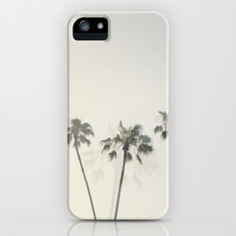 Double Exposure Palms 1 iPhone Case