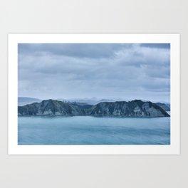 New Zealand Coast Art Print