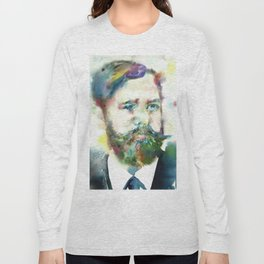 SIGMUND FREUD - watercolor portrait.1 Long Sleeve T-shirt