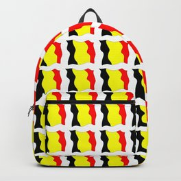 Flag of belgium 2-belgian,belge,belgique,bruxelles,Tintin,Simenon,Europe,Charleroi,Anvers,Maeterlinc Backpack