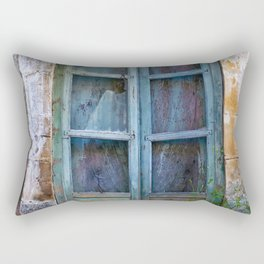 Abandoned Sicilian House in Noto Rectangular Pillow