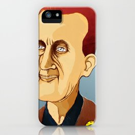 George Orwell, big brother is still watching you iPhone Case