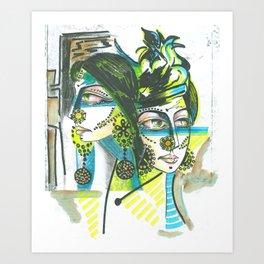 Koca Series 2 of 9 Art Print