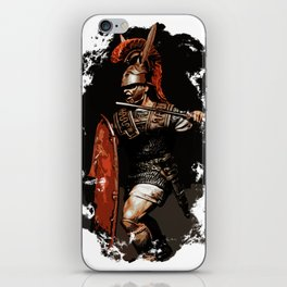 Roman Legionary at War iPhone Skin