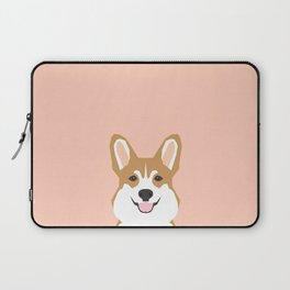 Shelby - Welsh Corgi gifts with corgi illustration for dog people and corgi owner gifts dog gifts Laptop Sleeve