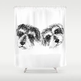 Mac & Ariel Shower Curtain