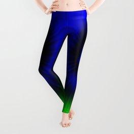 TIE DYE #1 (Blues & Greens) Leggings