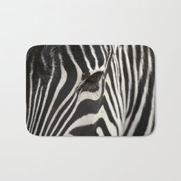 Zebra Eye Bath Mat