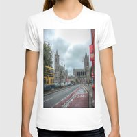dublin T-shirts featuring Dublin by Christine Workman