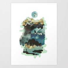 Leisure Plex Art Print