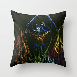A Night on Bald Mountain Throw Pillow