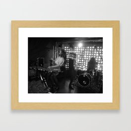 CLoud Control at Baby's All right Brooklyn, New York Framed Art Print