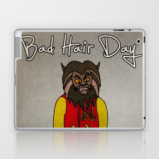 bad hair day no:5 / Thriller Laptop & iPad Skin