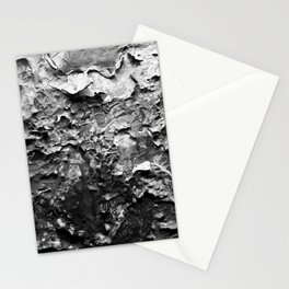 Paint Chips Black and White Stationery Cards